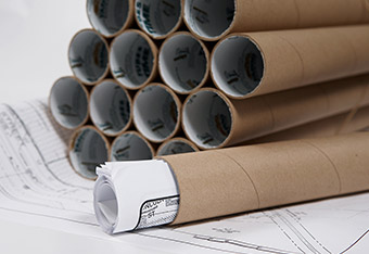 Light Duty Blueprint Mailing Tubes
