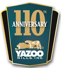 Yazoo Mills Celebrates 110th Year Company Anniversary